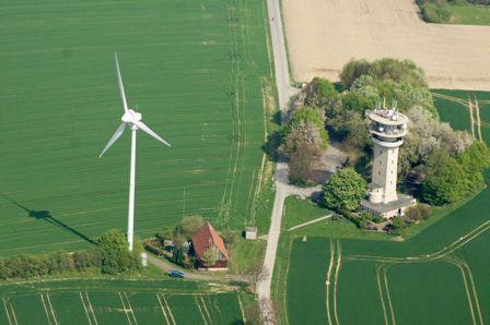 Bild Windkraft Quellenangabe Foto: entnommen von Wikipedia, © Günter Seggebäing, CC BY-SA 3.0